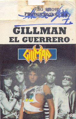 Gillman - El Guerrero (1986)