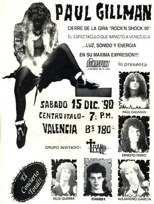 Poster Paul Gillman (1990)