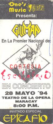 Pase Gillman Escalofrio (1994)