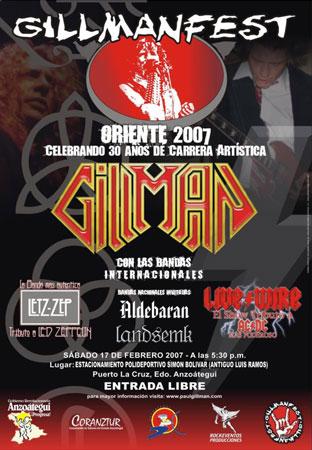 Gillmanfest 2007 - Puerto La Cruz