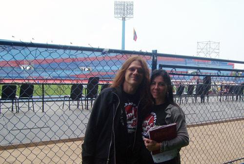 Paul y Anna María Gillman en el Pachencho Romero