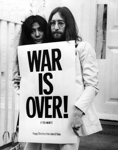 The war is over… if you what