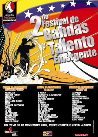 2do Festival de Bandas Talento emergente
