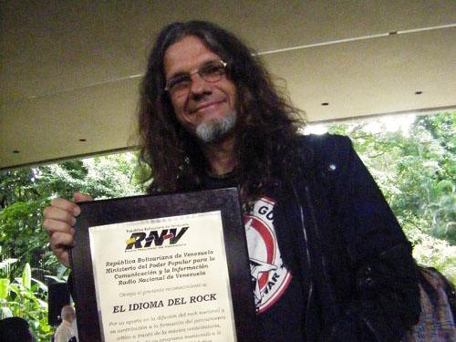 Paul Gillman 5 años del IDIOMA DEL ROCK