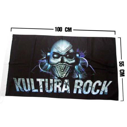 BANDERA KULTURA ROCK