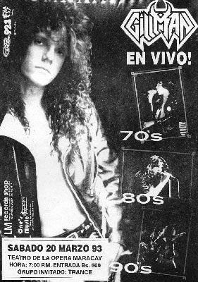 Poster Gillman (1993)