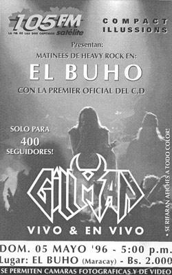 Gillman en El Buho (1996)
