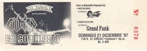 Gillman Tributo Baron Rojo (1997)