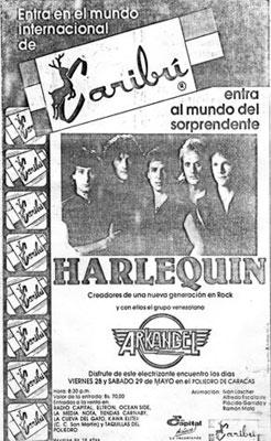 Harlequin y Arkángel en el Poliedro de Caracas
